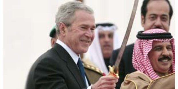 Bush besuchte 5. US-Flotte in Bahrain