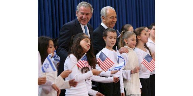 Palästinenser bieten eiskalten Empfang für Bush