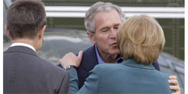 Bush und Merkel wollen Fortschritte beim Klima