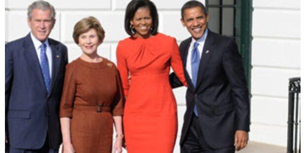 Bush empfing Obama im Weißen Haus