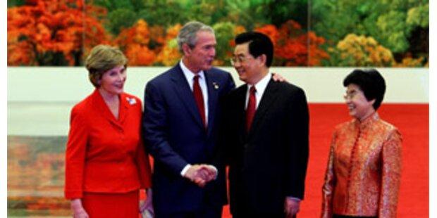 Bush kritisierte China erneut