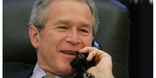 Teenager rief bei Bush an