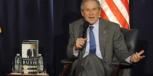 Bush traut sich nicht in die Schweiz