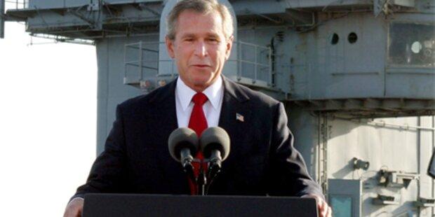 George Bush verteidigt brutale Folter