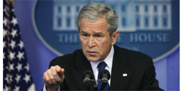 Bush besucht erstmals Israel