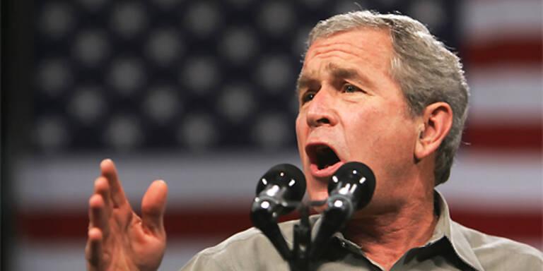 """Bush könnte vom Kriegspräsidenten zur """"lahmen Ente"""" mutieren.(c)AFP PHOTO/Mandel NGAN"""