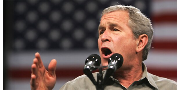 Bush räumt Fehler im Irak ein