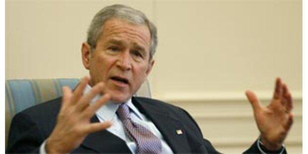 Bush kritisiert Israels Siedlungsbau