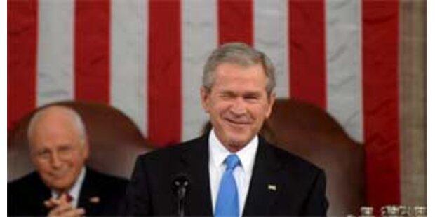 Bush warnt Iran und betont Erfolge im Irak