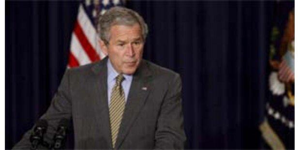 Bush plant angeblich neuen Nahost-Gipfel für Mai