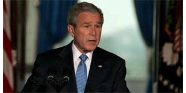 Bush will vorerst keine Truppenreduzierung im Irak