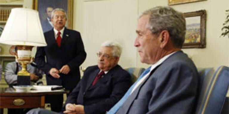 Bush will zusammenhängenden Palästinenser-Staat