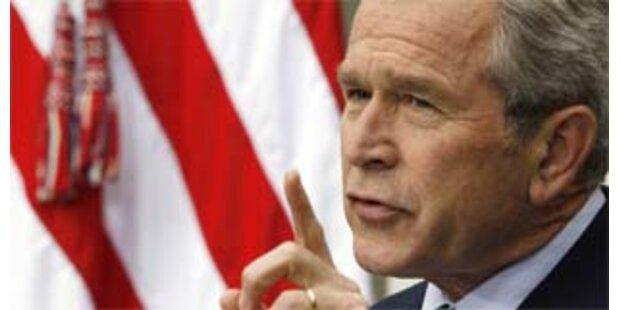Bush hat noch Hoffnung auf Nahost-Vertrag
