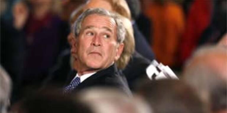 George Bush, der unpopulärste US-Präsident der Geschichte