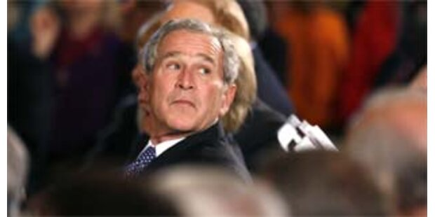 Bush ist der unpopulärste Präsident aller Zeiten
