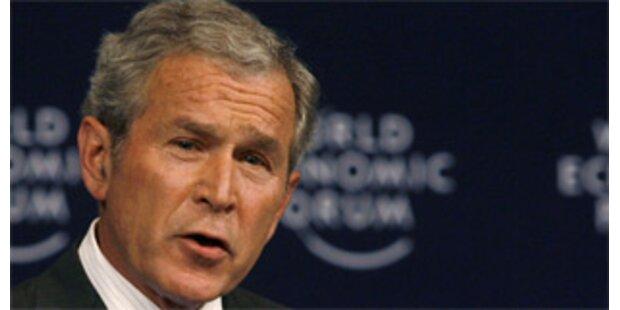 Bush macht sich im Nahen Osten unbeliebt