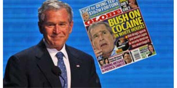 Magazin beschuldigt Bush im Weißen Haus zu koksen