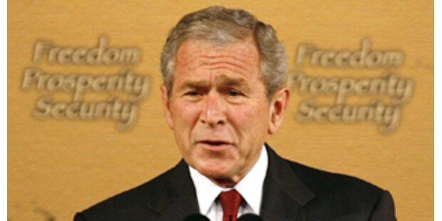 Bush kritisiert die Chinesen scharf