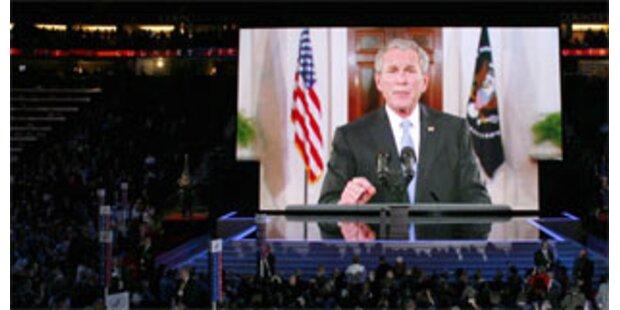 Bush rührt Werbetrommel für McCain