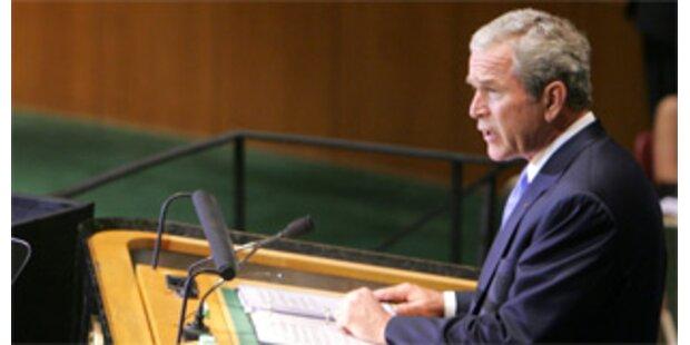 Bushs letzte UNO-Rede über Finanzkrise