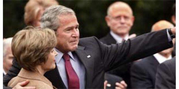 Bush weinte vor Obama-Besuch