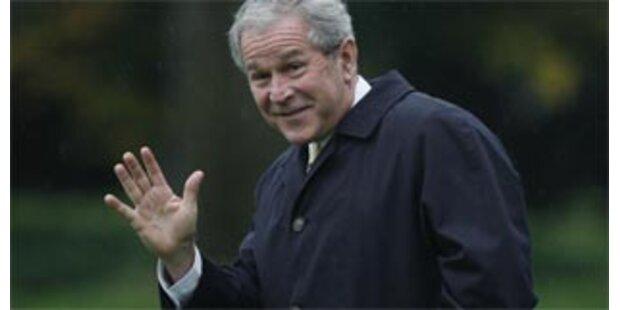 Bush räumt zahlreiche Fehler ein