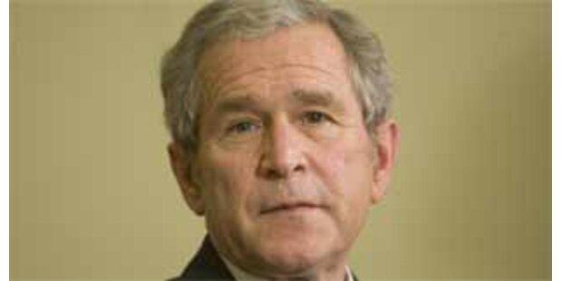 Bush ist schlechtester Präsident der Geschichte