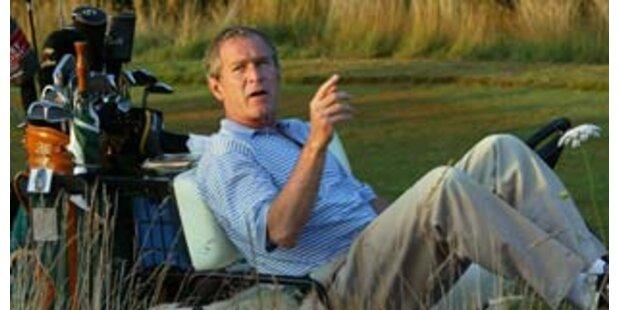 George Bushs eigenwillige Holper-Sprache