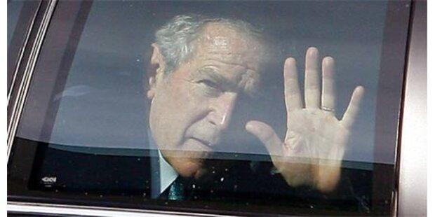 Bush schreibt Buch über seine Amtszeit