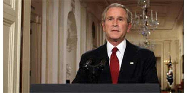 Unter Bush Bibel-Zitate in Lageberichten