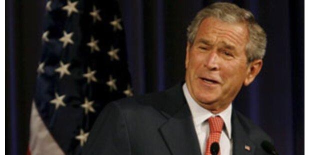 US-Präsident Bush weint viel
