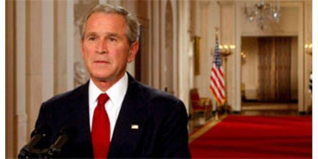 Bush warnt vor der Rezession