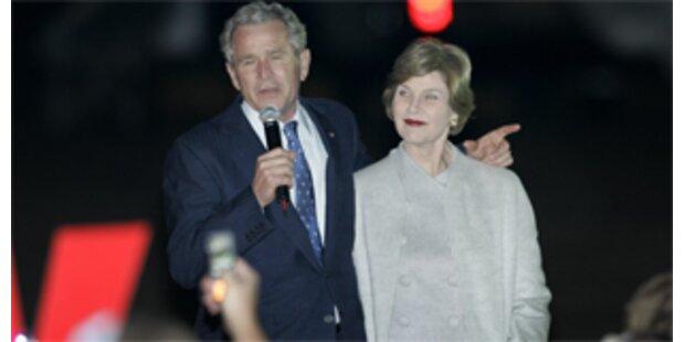 Bushs erste Nacht als Privatmann auf Texas-Ranch