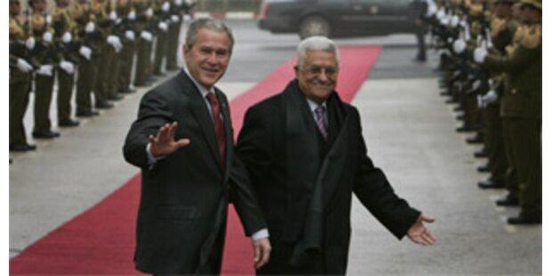 Bush will schmerzhafte Zugeständnisse im Nahen Osten