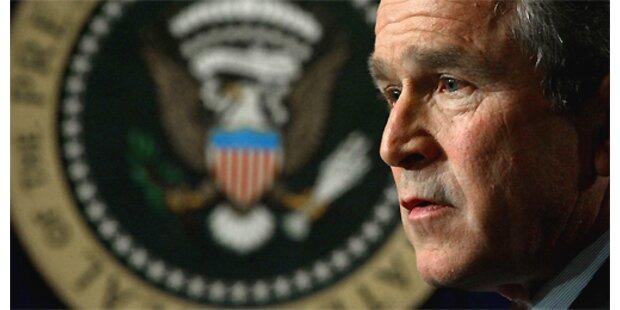 Nur noch 30 Prozent für Bush