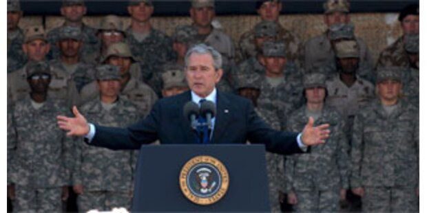 Bush lässt weiteren Irak-Abzug offen