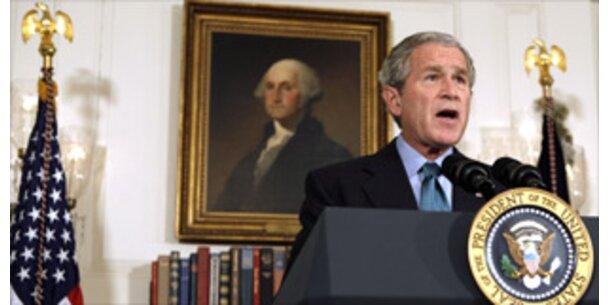 Bush richtet dramatischen Appell an den Kongress