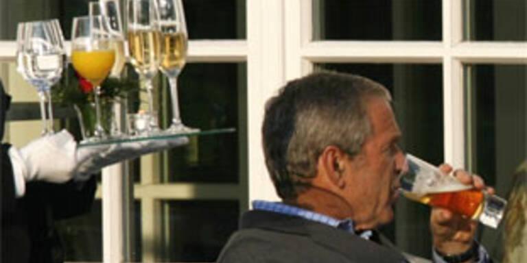Bush spricht über Alkoholsucht und harte Drogen