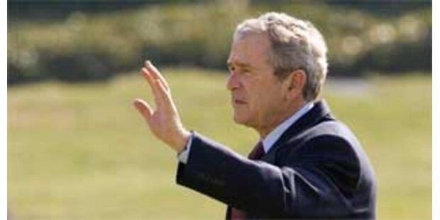 Bushs letztes Budget übersteigt 3 Billionen Dollar