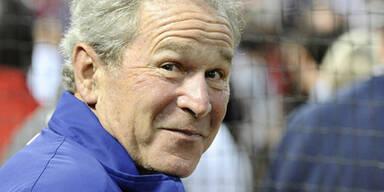 Bush attackiert Ex-Kanzler Schröder