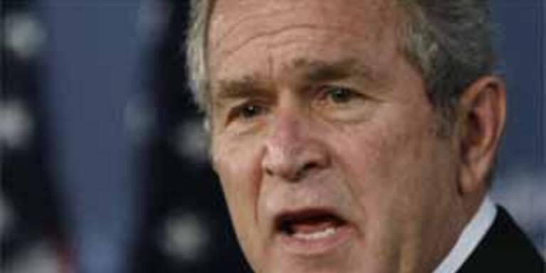 Bush warnt Syrien vor Wahl-Einmischung im Libanon