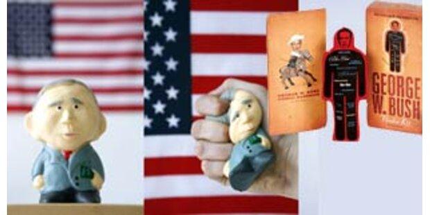 Bush-Puppen und Lollis finden reißenden Absatz