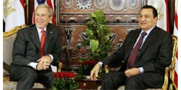 Bush beendet Nahost-Reise in Ägypten
