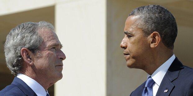 Umfrage: Bush beliebter als Obama
