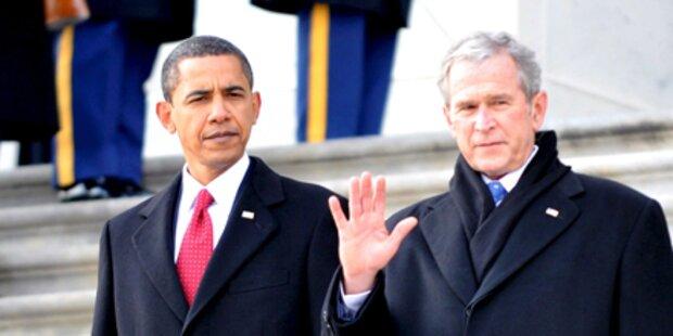 Bush schlägt Einladung Obamas aus