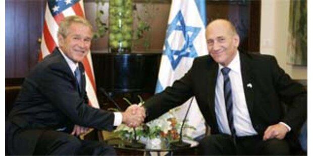 Bush zu Feierlichkeiten in Israel eingetroffen