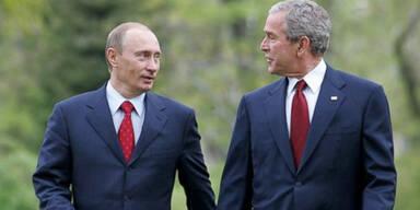 George W. Bush Wladimir Putin