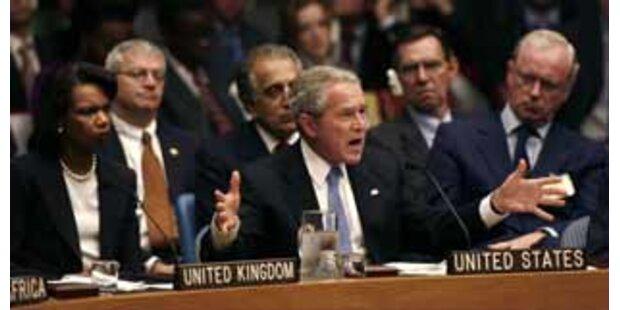 Bush hat Probleme mit fremden Namen