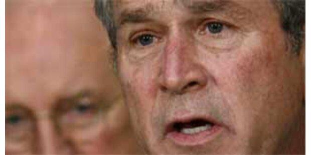 Bush will weniger Steuern als Konjunktur-Impuls