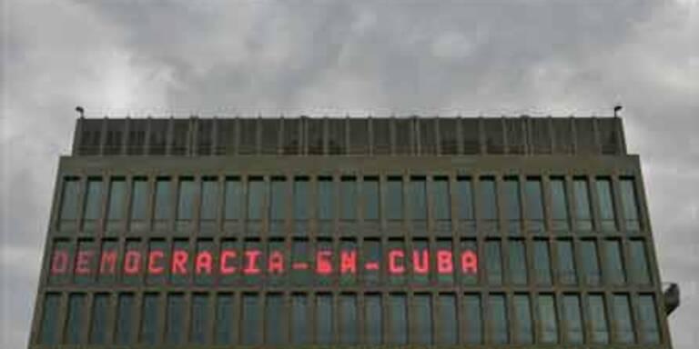 Obama schafft Bush-Screen in Kuba ab